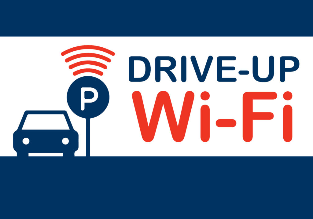Drive-Up Wi-Fi for Students